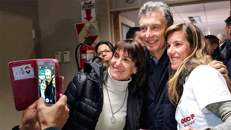 Mauricio Macri criticó el paro: