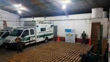 Incautaron casi 500 kilos de marihuana en la ruta nacional 12