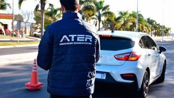 Más de la mitad de los vehículos controlados por ATER adeudaban impuestos