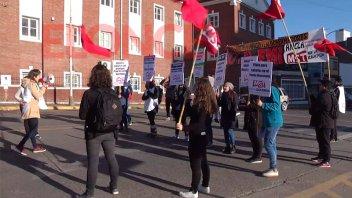 Jóvenes nucleados en La Nueva Izquierda se manifestaron en Cinco Esquinas