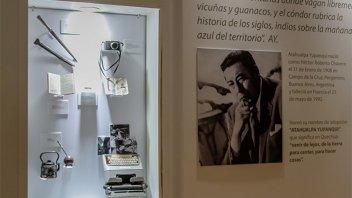 Llega a Paraná una muestra que homenajea a Atahualpa Yupanqui