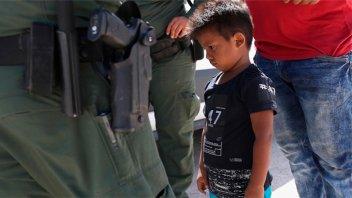 Frontera EE.UU: Niños separados de sus padres