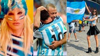 La tristeza de los famosos por la eliminación de Argentina del Mundial