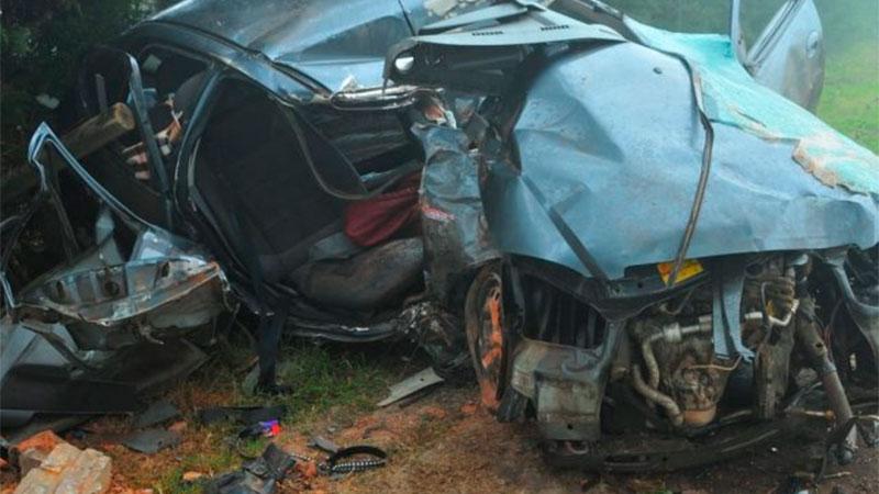 Accidente fatal en Avenida Almafuerte.