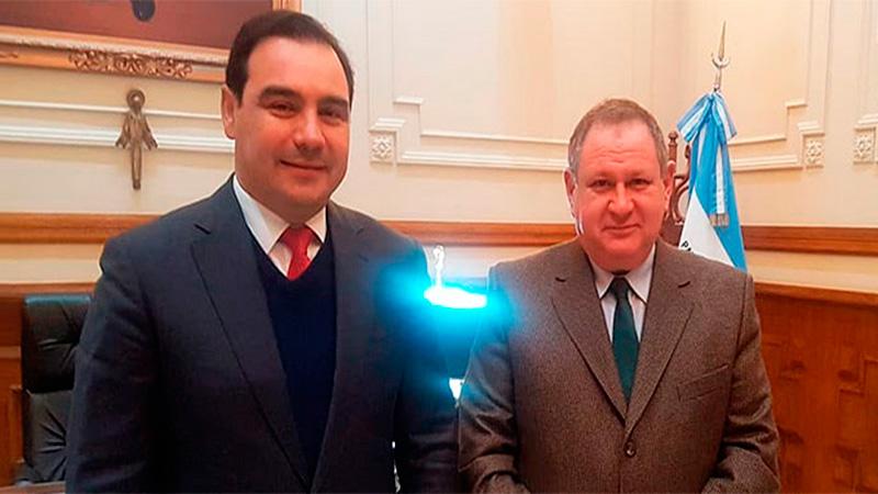 Rogel con el Gobernador correntino