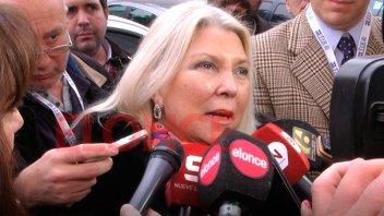 Carrió cuestionó al Gobierno por la salida de tres funcionarios de AFIP