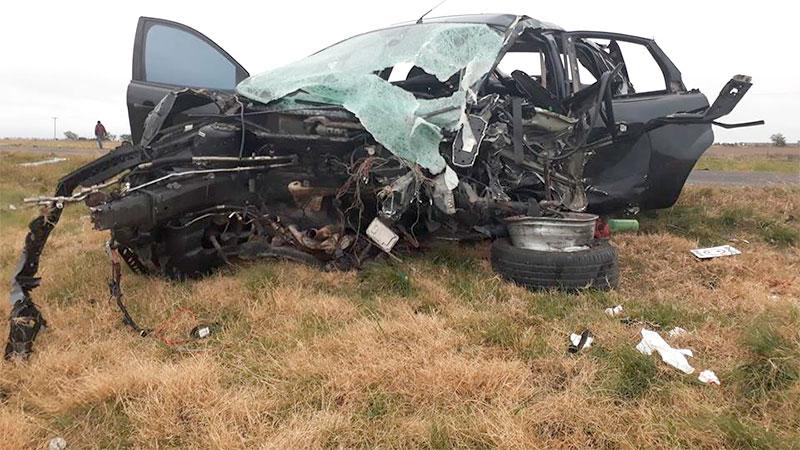 Choque fatal en la Ruta 18.