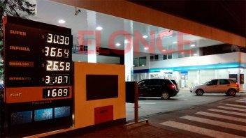 Los nuevos precios de YPF en Paraná: La Infinia ya roza los $37