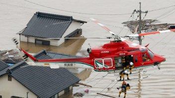 Japón, azotado por lluvias torrenciales: Ya son 51 los muertos