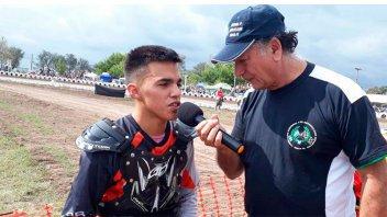Joven piloto murió en una carrera de motos