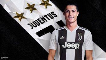 Las acciones de Juventus suben 5,71 % tras el fichaje de Cristiano Ronaldo