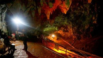 Revelan el destino de la cueva tailandesa donde estaban los niños futbolistas