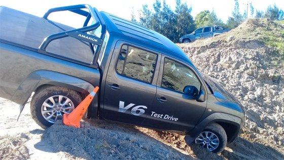 Haimovich y Volkswagen compartieron la travesía 4x4 de la Amarok V6: Imágenes