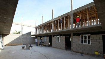 Avanza la construcción de un nuevo pabellón en la cárcel de Paraná