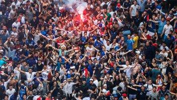 Disturbios, saqueos y destrozos en Francia en la celebración del título mundial