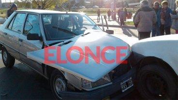 Choque en cadena involucró a cuatro vehículos en Churruarín y Blas Parera