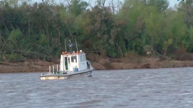 Buscan a los desaparecidos en la tragedia náutica ocurrida en el río Paraná