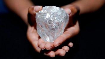 Hallan un enorme depósito de diamantes bajo la superficie terrestre
