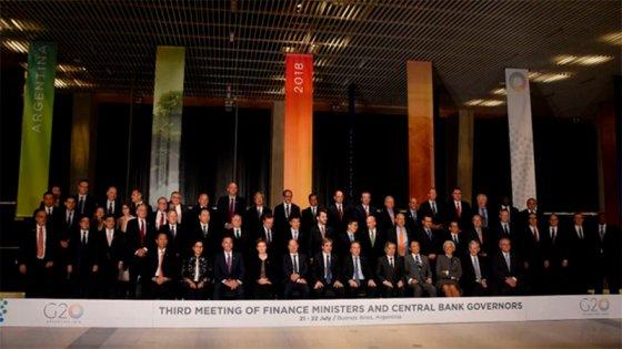 Tensiones comerciales y acuerdo con el FMI dominan la cumbre del G20
