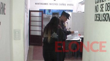 Indignante: Destrozaron una puerta y robaron en la sede de Suma de Voluntades