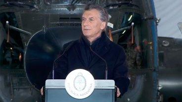 Macri: Los militares