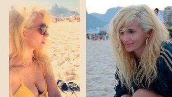 Griselda Siciliani en bikini desde Brasil: