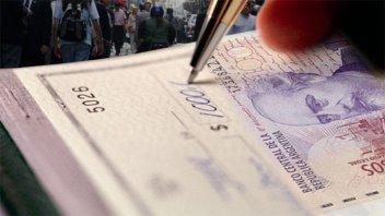 Cheques rechazados: están en niveles récord y lo concentran las pymes