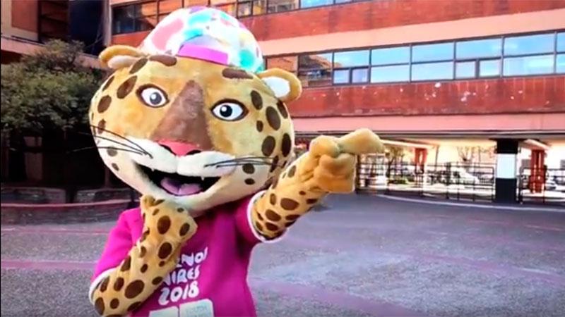 Pandi, la mascota también estará en Paraná