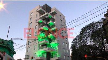 Pilay inauguró el edificio