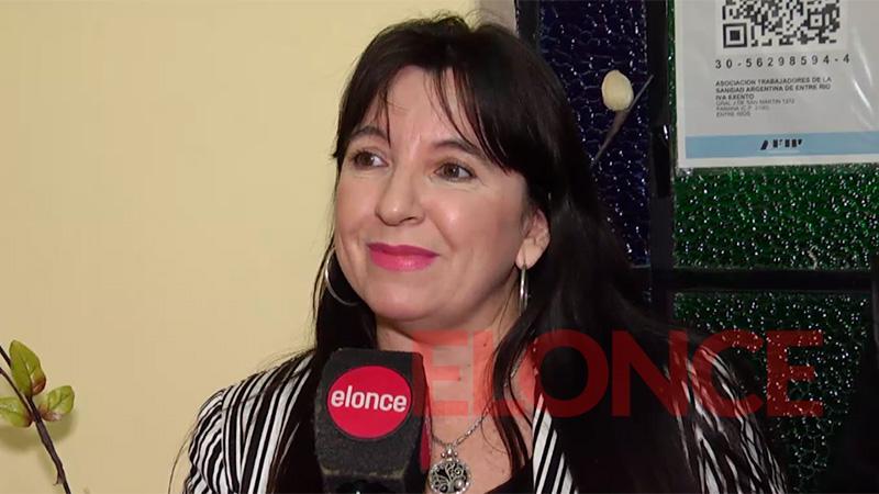 Mariela Ponce, secretaria general de ATSA Entre Ríos