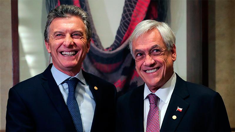 Macri también se reunió con el Presidente chileno