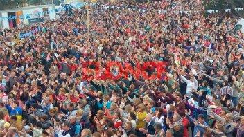 Una multitud celebró en Paraná al Santo del Pan y del Trabajo