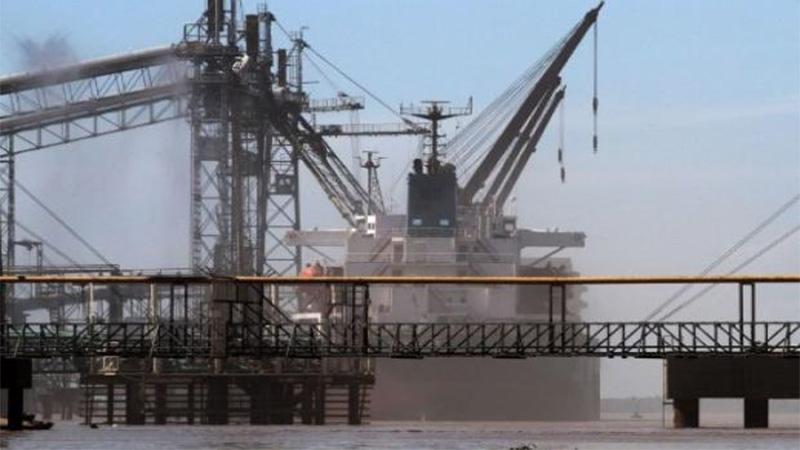 La bajante del Río Paraná impacta en el Complejo Oleaginoso del Gran Rosario