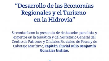 Charla sobre Desarrollo de las Economías Regionales y el Turismo en la Hidrovía