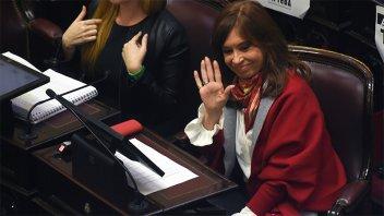 El Senado define hoy si autoriza los allanamientos a Cristina Kirchner