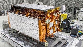 El presidente anunció el lanzamiento de un nuevo satélite: Es el