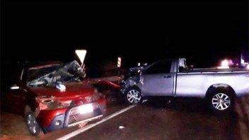 Entrerrianos protagonizaron choque frontal: Cuatro personas fallecieron