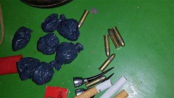 En cinco allanamientos detuvieron a 10 personas y secuestraron droga