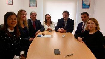 La Asociación de Magistrados se reunió con el Secretario de Justicia