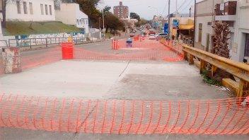 Tránsito reducido en calle Laurencena y en avenida Ramírez por diferentes obras
