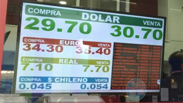 El Banco Central perdió en un día más de 1.600 millones de dólares