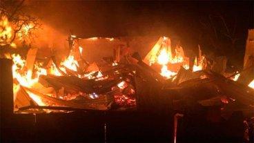 Diez mujeres murieron al incendiarse un hogar de ancianos en Chile