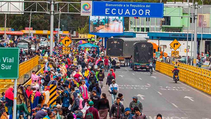 ACNUR se vuelca en ayudar a Ecuador ante el flujo de migrantes venezolanos
