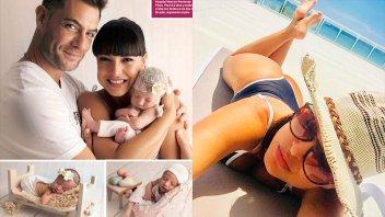 Andrea Estévez se separó de su pareja tres meses después de dar a luz