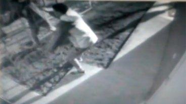 Filman a ladrones mientras roban en una obra a plena luz del día