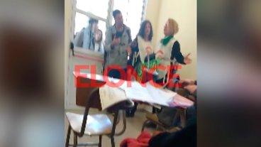 Video: Polémica por ruidoso reclamo en defensa de la universidad pública