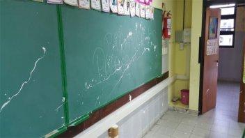 Menor de 11 años sería el autor de hechos vandálicos en una escuela