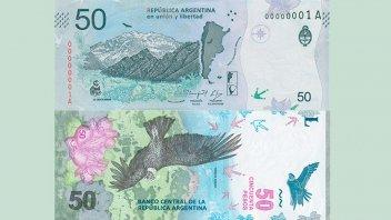 El nuevo billete de $ 50 comienza a circular mañana: Las medidas de seguridad