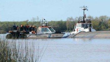 Hallaron un cadáver atado y amordazado en zona de islas de Victoria