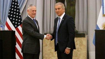 Argentina y Estados Unidos acordaron profundizar la cooperación militar